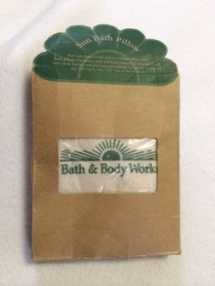 Old skool bath and body works inflatable pillow.