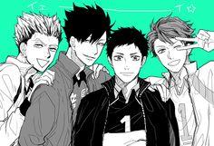 #bokuto #kuroo #daichi #oikawa #hq