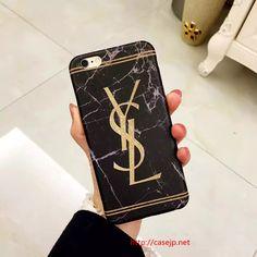 iphone8 ケース セレブ愛用のブランド イヴサンローラン YSL
