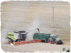 Combine, Tractor & Trailer