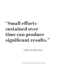 That's how miracles happen! What is something small that you're trying to be better at?