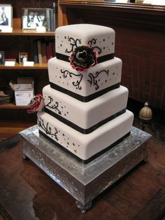 https://flic.kr/p/7cnovN   Cotillion Events Wedding Cakes Cincinnati 302   Wedding cake by Cotillion Events Wedding Cakes Cincinnati October 31st 2009
