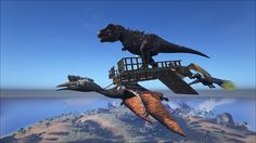 Studio wildcard reveals ark survival evolved modding program no rules on the ark in case you were wondering yes a quetzal can malvernweather Choice Image