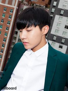 BTS photographed on July 15, 2015 at Billboard's Chelsea, New York studio | J-HOPE