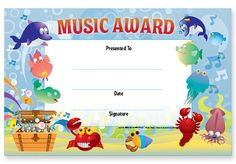x Pkg. of match our Music Treasure Chest Incentive Chart. Treasure Chest, Music Awards, Certificate, Presents, Chart, School, Gifts, Schools, Gifs