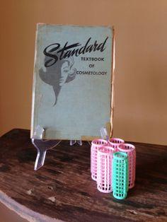 Vintage Standard Textbook Of Cosmetology 1960s by StylishPiggy, $22.00