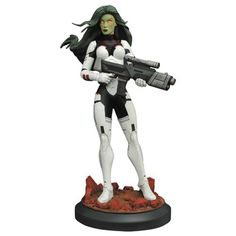 (affiliate link) Guardians of the Galaxy Gamora Premier Collection Statue