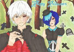 Tokyo Ghoul - Touka and Kaneki by Syntry.deviantart.com on @DeviantArt