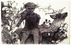 Collages, Watercolor And Ink, Deer, Illustration Art, Batman, Superhero, Painting, Fictional Characters, India Ink
