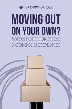 Leaving the dorm or your parents' place and moving out for the first time is exciting… but if you're not careful, it can wreck your budget. Watch out for these expenses. @thepennyhoarder