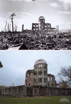 71 años de una de las fotos más devastadora del ataque nuclear a Hiroshima. Así se encuentra hoy