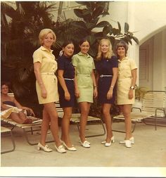 One of my favorite Eastern Uniforms - very comfy and lots of colors 1970's