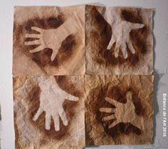 History For Kids, Art History, School Art Projects, Art School, Drawing For Kids, Art For Kids, Paleolithic Art, Stone Age Art, Cro Magnon
