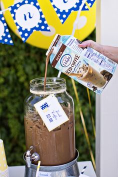 When the summer temperatures soar and you have some bored kids around, there's a surefire way to handle both – create a Lemonade Stand! But how about adding something for the adults too with some delicious iced coffee from International Delight! Now that's something I couldn't pass up, ice cold flavored coffee. Perfect on a …