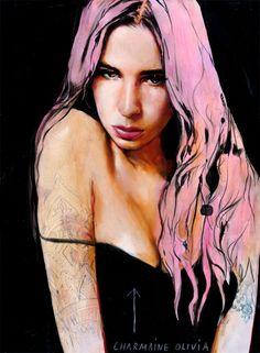 Charmaine (Self-Portrait) by Charmaine Olivia