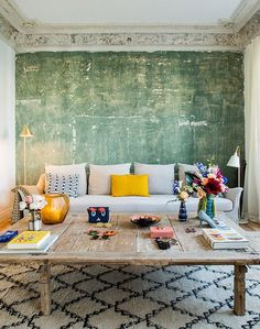 renovated home in madrid via architectural digest espana. / sfgirlbybay
