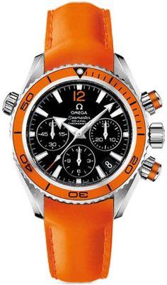 orange.quenalbertini: Omega Seamaster Planet Ocean Ladies Watch