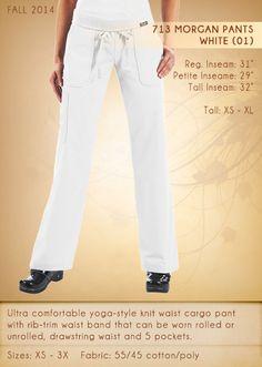 713 Morgan Pants | 713-01 (White)