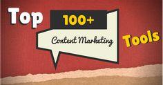Top 100+ Content Marketing Tools