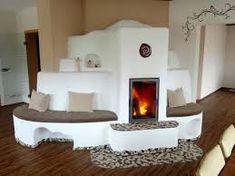 Bildergebnis für kachelofen Cottage Living Rooms, Interior, Fours, Stoves, Home Decor, Outdoor, Home, Fireplace Heater, Kitchen Dining Rooms