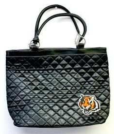Cincinnati Bengals Quilted Tote Special Order