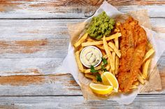 fish and chips fried cod french fries