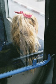 cute ponytail :)