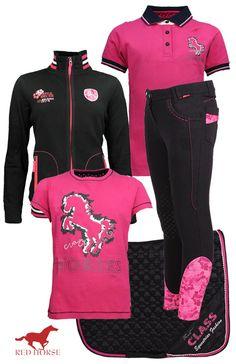Red Horse Black-Pink   #redhorse #summer17 #equestrian #fashion