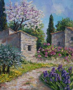 . Beautiful Landscape Paintings, Landscape Paintings, Oil Painting Nature, Oil Painting Landscape, Painting, Watercolor Landscape, Beautiful Landscapes, Canvas Painting, Landscape Art