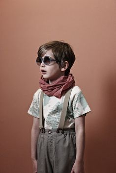 flannery o'kafka for Babiekins issue 8  with mini rodini, optimist of Norway, and sons & daughters eyewear