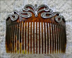 ANTIQUE  Victorian/ Edwardian  HAIR COMB  c1900 by JoolsForYou SOLD OUT Thank You!