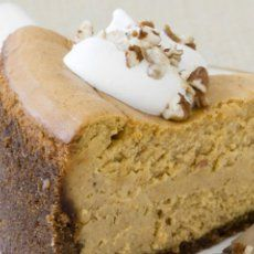 Pumpkin Cheesecake - Cpk copycat