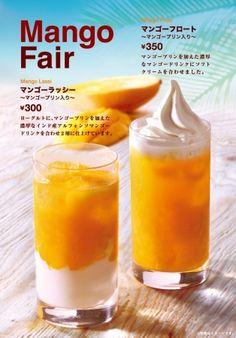 カフェベローチェ食感も楽しめる夏らしいマンゴードリンク2種を発売