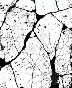 Illustration of alpha bump marble crack damage map for use in 3d software