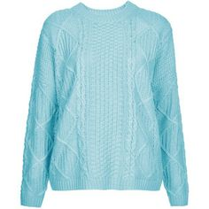TOPSHOP Knitted Cable Jumper