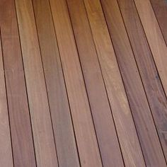 Pictured: 145 x Smooth Balau Hardwood Decking Boards