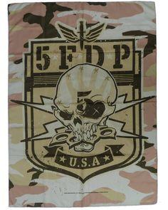 NEW IN STOCK! @5fdp FIVE FINGER D P Official Merchandise Product TEXTILE FLAG/POSTER - CAMO http://ift.tt/1KO9hz6