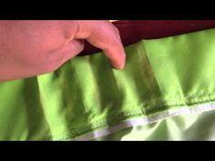 CORTINADO Plisada DIY - YouTube