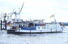 The Royal party set off down the River Elbe towards their final stop. After their final en...