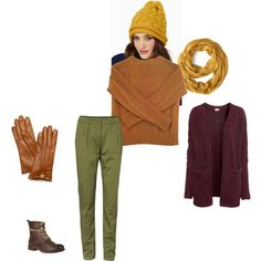 """Warm Autumn - For cold days"" by adriana-cizikova on Polyvore"