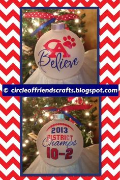 Photo on Circle of Friends Crafts: CA Believe Ornament