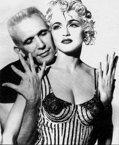 Мадонна и Жан Поль Готье