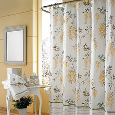 Curtains Blue Floral Shower Kohls For Bathroom Size 2000 X And Yellow Curtain
