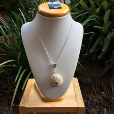 Sea urchin stone ware necklace by simonesceramics on Etsy