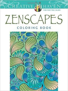 Creative Haven Zenscapes Coloring Book Books Jessica Mazurkiewicz