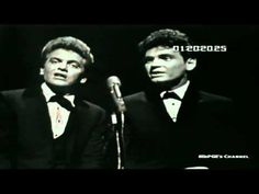 ▶ Everly Brothers Let It Be Me Very nice quality HD video Live 1964 - YouTube