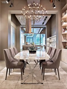 Jeff Andrews Design | more inspiring images at http://diningandlivingroom.com/category/dining-room/