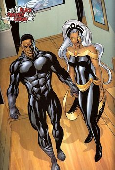 Black Panther and Storm  More @ https://pinterest.com/ingestorm/comic-art-storm-black-panther & http://pinterest.com/ingestorm/comic-art-storm & http://pinterest.com/ingestorm/comic-art-x-men & http://groups.yahoo.com/group/Dawn_and_X_Women & http://groups.google.com/group/Comics-Strips & http://groups.yahoo.com/group/ComicsStrips & http://www.facebook.com/ComicsFantasy & http://www.facebook.com/groups/ArtandStuff