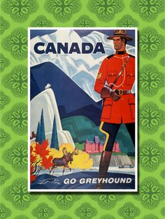 Canada Travel Poster Wall Decor (7 print sizes available) by TheWorldTravelers on Etsy https://www.etsy.com/listing/166308460/canada-travel-poster-wall-decor-7-print