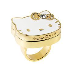 Hello Kitty Perfume To Go Ring <3